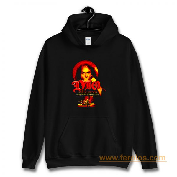 Dio Live in London Hammersmith Hoodie