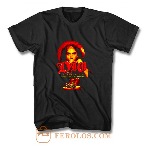 Dio Live in London Hammersmith T Shirt