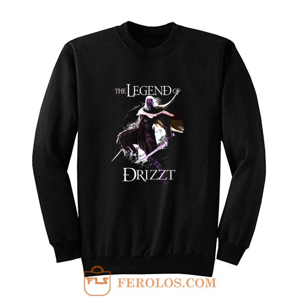 Drizzt DoUrden The Crystal Shard Forgotten Realms Salvatore Sweatshirt
