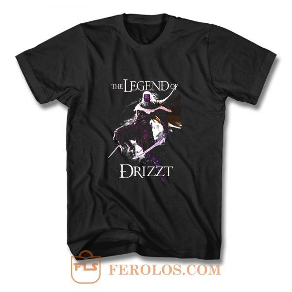 Drizzt DoUrden The Crystal Shard Forgotten Realms Salvatore T Shirt