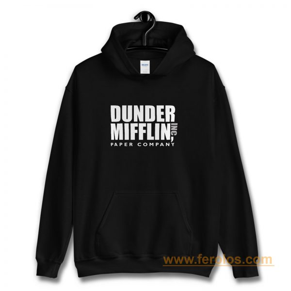 Dunder Mifflin Paper Company Inc from The Office Hoodie
