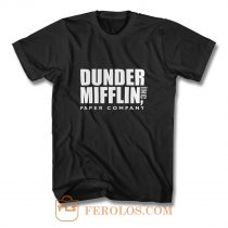 Dunder Mifflin Paper Company Inc from The Office T Shirt