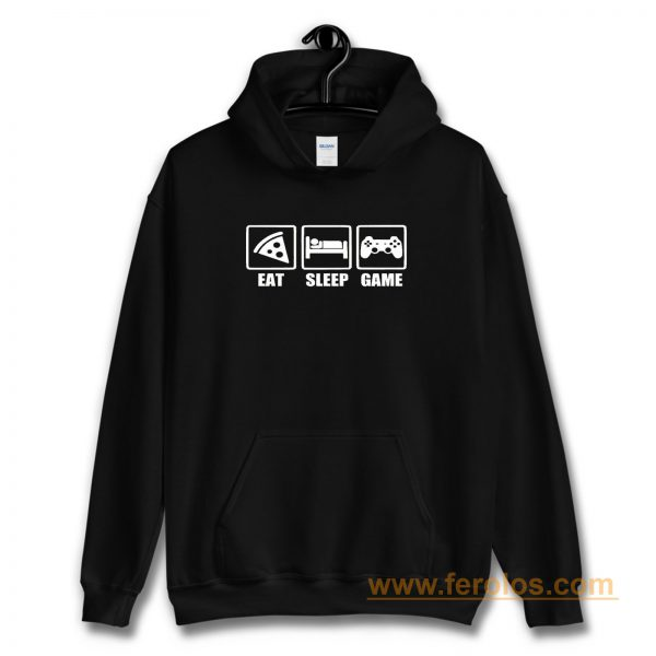 Eat Sleep Game Gaming Lovers Day Hoodie