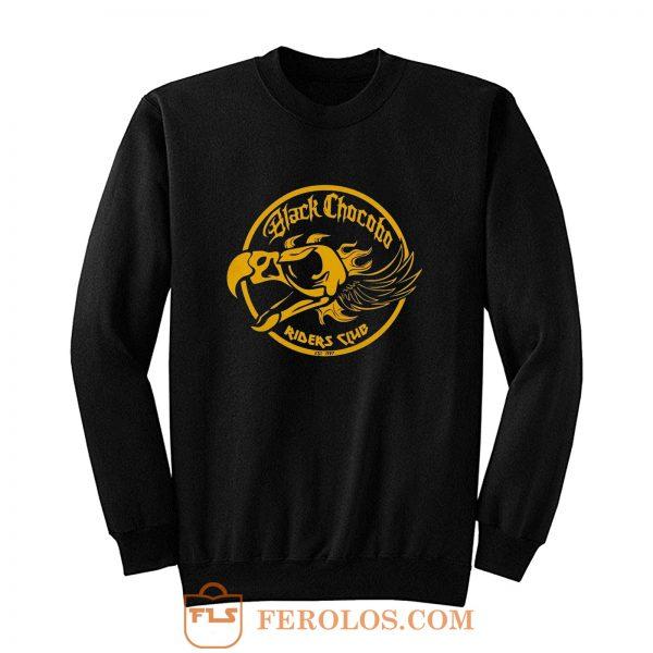 Final Fantasy Black Chocobos Riders Club Sweatshirt