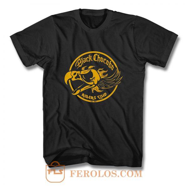 Final Fantasy Black Chocobos Riders Club T Shirt