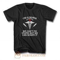 Funny Nurse Shirt Registered Nurse RN Gift Nursing T Shirt
