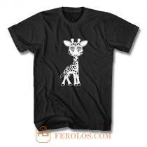 Giraffe animals T Shirt