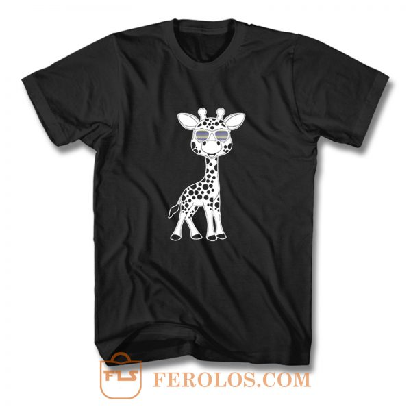 Giraffe animals T Shirt
