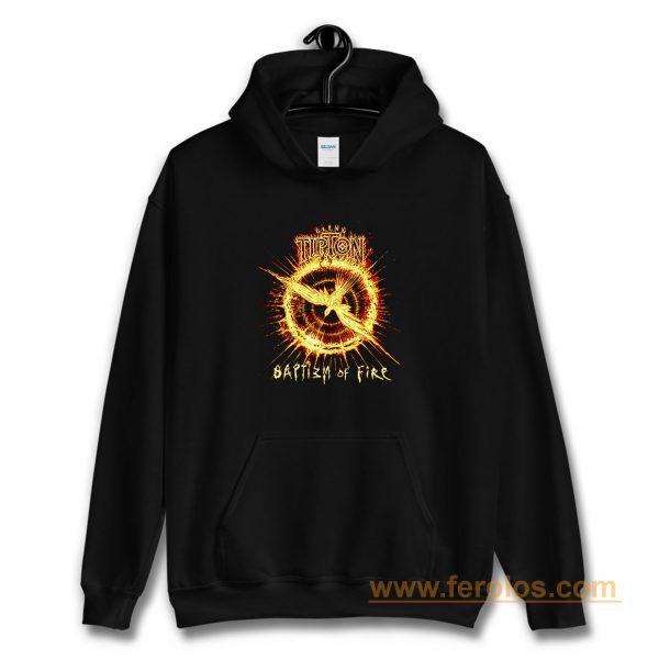 Glenn Tipton Baptizm Of Fire black Hoodie