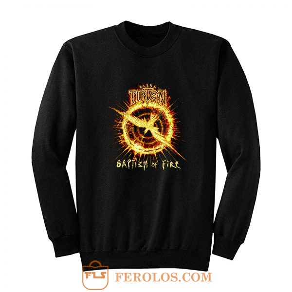 Glenn Tipton Baptizm Of Fire black Sweatshirt