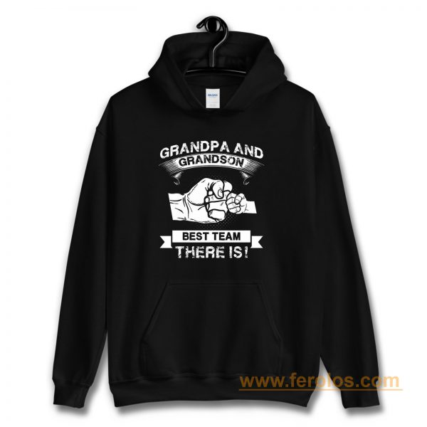 Grandpa and Grandson New Grandfather Hoodie