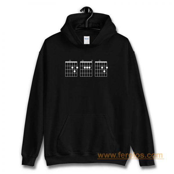 Guitar Chord Shirt Hoodie