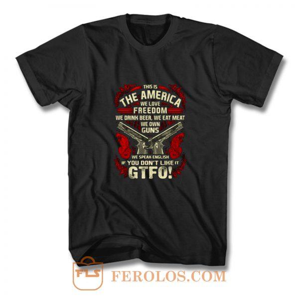 Gun Control This is The America T Shirt