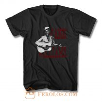 HANK WILLIAMS country western T Shirt