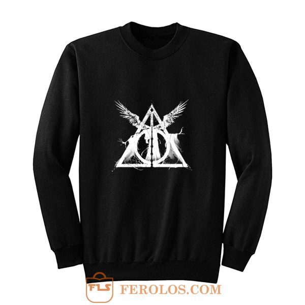 Harry Potter Deathly Hallows Three Brothers Sweatshirt