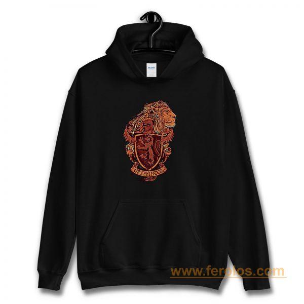 Harry Potter Gryffindor Lion Hoodie