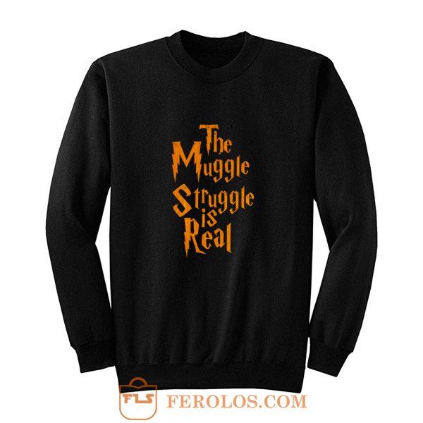 Harry Potter Muggle Struggle Sweatshirt