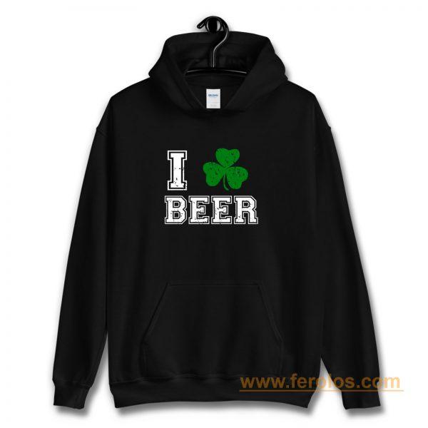 I Love Beer Hoodie