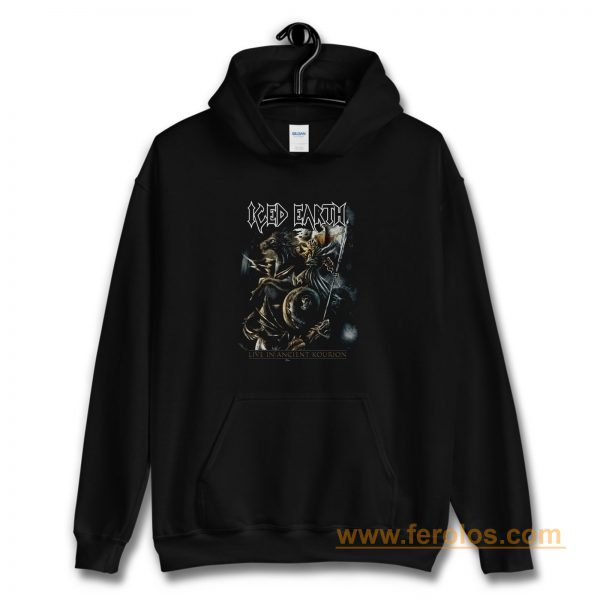 ICED EARTH LIVE AT THE ANCIENT KOURION Hoodie