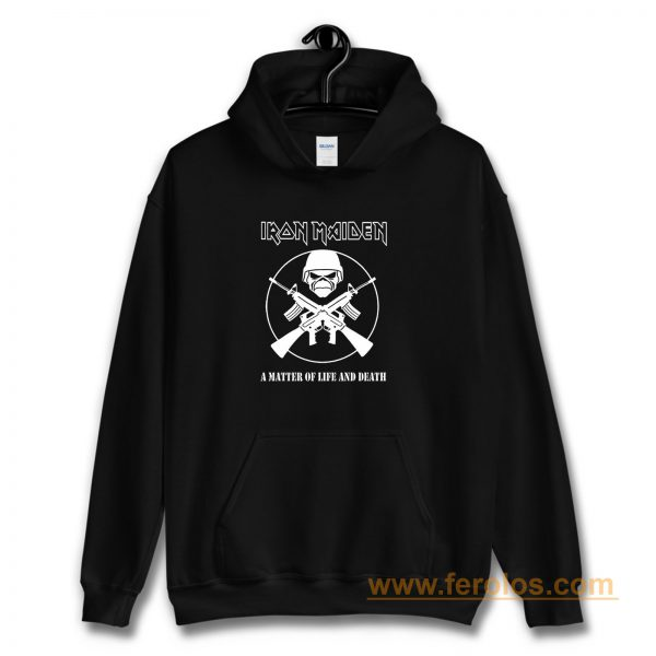 Iron Maiden A Matter of Life and Death Hoodie
