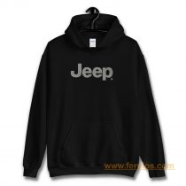 Jeep® Text Blackout Hoodie