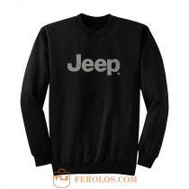 Jeep® Text Blackout Sweatshirt
