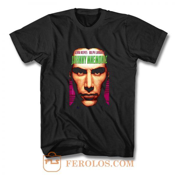 Johnny Mnemonic movie poster T Shirt