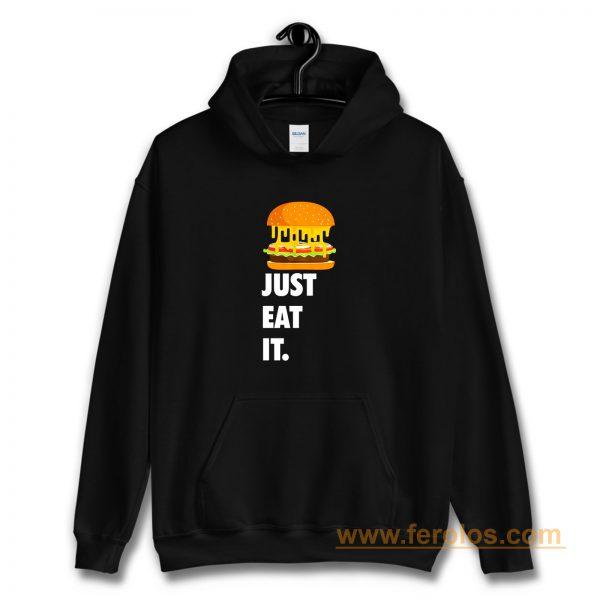 Just Eat It Burger Lover Hoodie