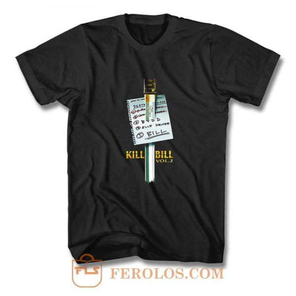 KILL BILL Vol 2 T Shirt