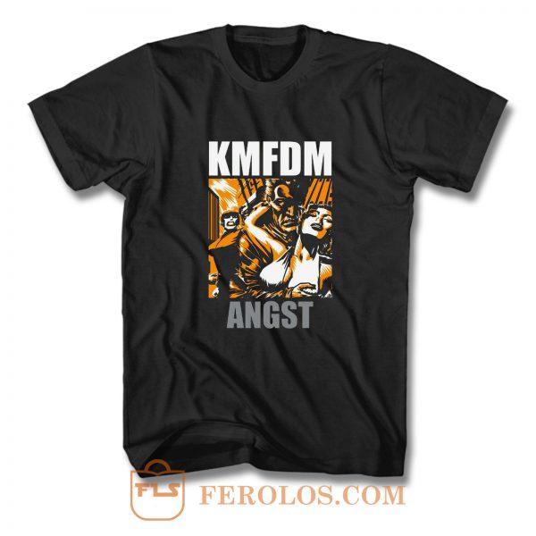 KMFDM ANGST T Shirt