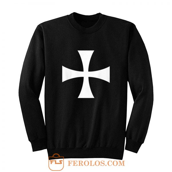 KNIGHTS HOSPITALLER CROSS Sweatshirt