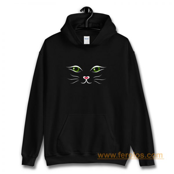 Kitty Face Cat Hoodie