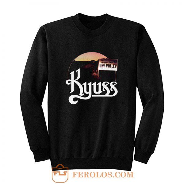 Kyuss Welcome to Sky Valley t Doom Stoner Metal Rock Band Tee Sweatshirt