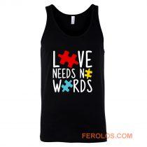 Love Needs No Words Tank Top