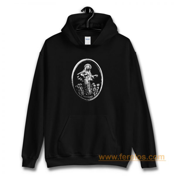 MEDUGORJE Our Lady of Medjugorje Miraculous Medal Hoodie