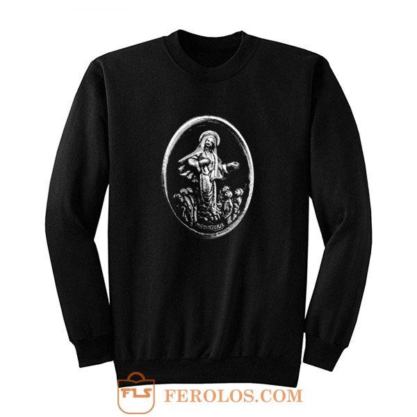 MEDUGORJE Our Lady of Medjugorje Miraculous Medal Sweatshirt