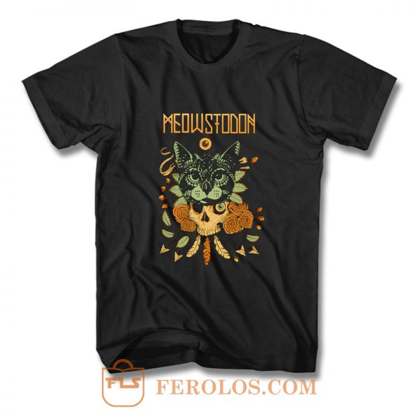 MEOWSTODON CAT T Shirt