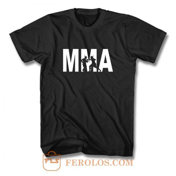 MMA martial arts T Shirt