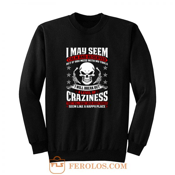 May Seem Calm And Reserved Sweatshirt