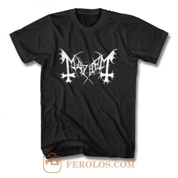 Mayhem De Mysteriis Dom Sathanas T Shirt