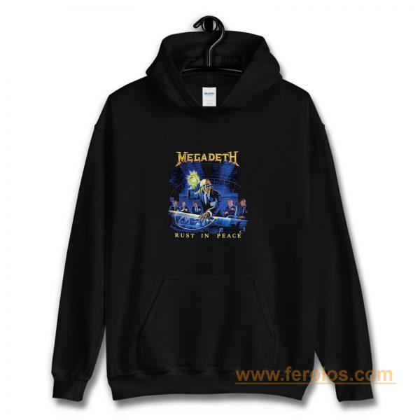 Megadeth Rust In Peace Hoodie