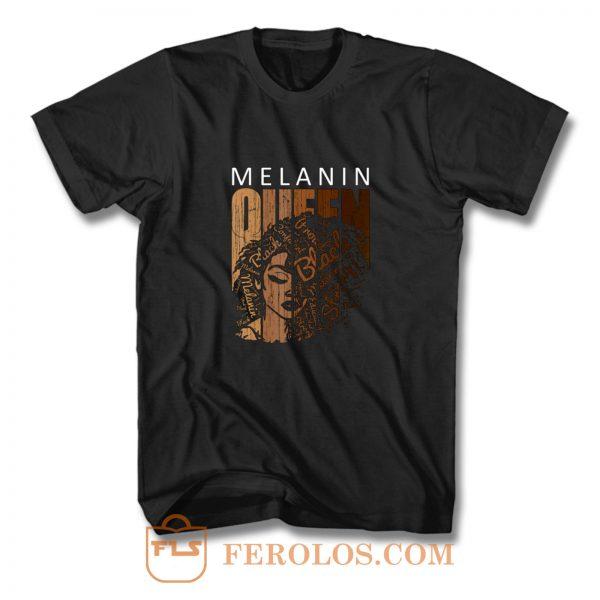 Melanin Queen T Shirt