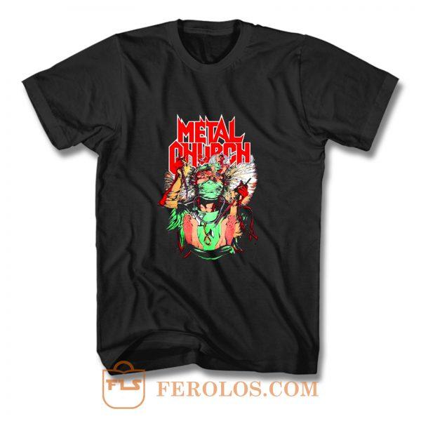 Metal Church Fake Healer T Shirt