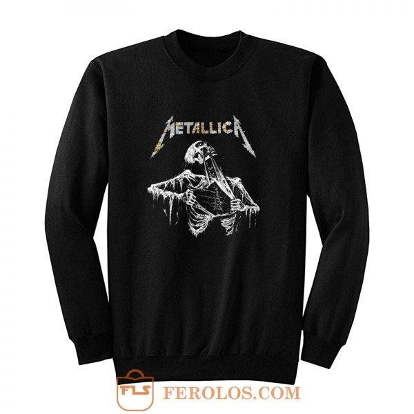 Metalica skull Sweatshirt
