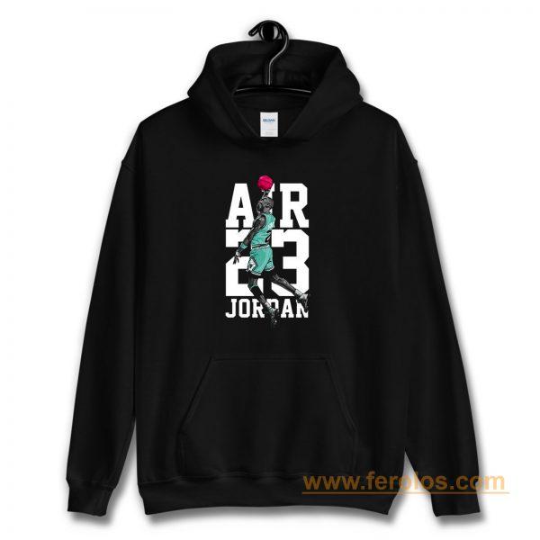 Michael Jordan Air Jordan 13 Aurora Green Match Hoodie