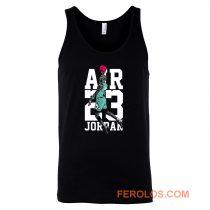 Michael Jordan Air Jordan 13 Aurora Green Match Tank Top