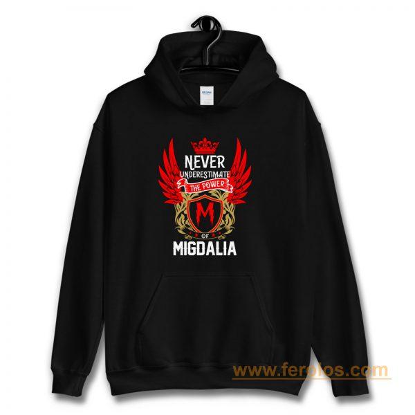 Never Underestimate The Power Migdalia Hoodie