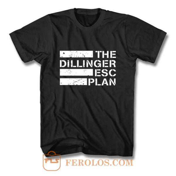 New The Dillinger Escape Plan Metal Band T Shirt