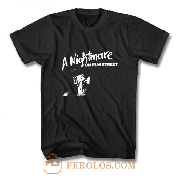 Nightmare On Elm St Freddy Krueger Photo lizenziert T Shirt