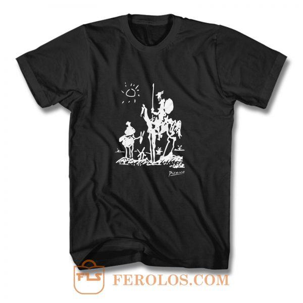 Pablo Picasso Don Quixote of La Mancha 1955 T Shirt
